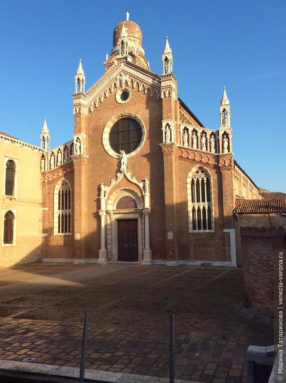 Район Каннареджио в Венеции