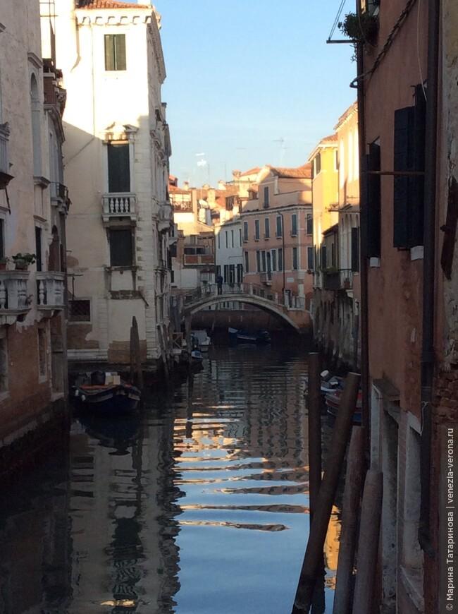 Город страны Зазеркалья -Венеция