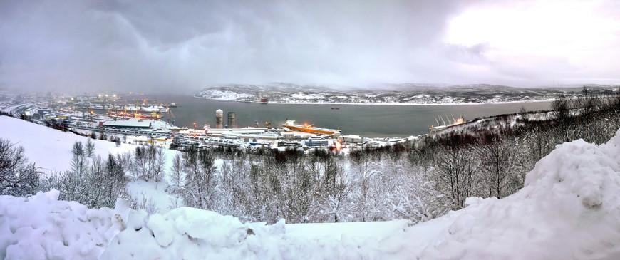 Порт Мурманска
