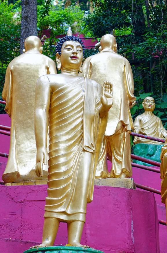 Да и Будды подбодряли - все будет хорошо, давай, топай дальше!
