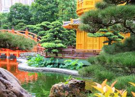 Гонконг. Сад Нан Лиан.