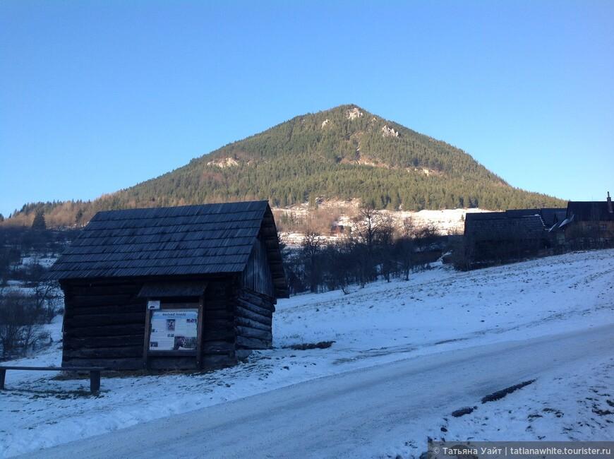 Вот она - гора Сидорова, стражник жителей деревушки Влколинец.