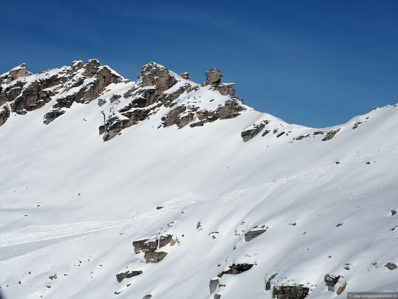Девственные склоны на высоте 2700м, Австрийский Бад-Гаштайн, открытие сезона