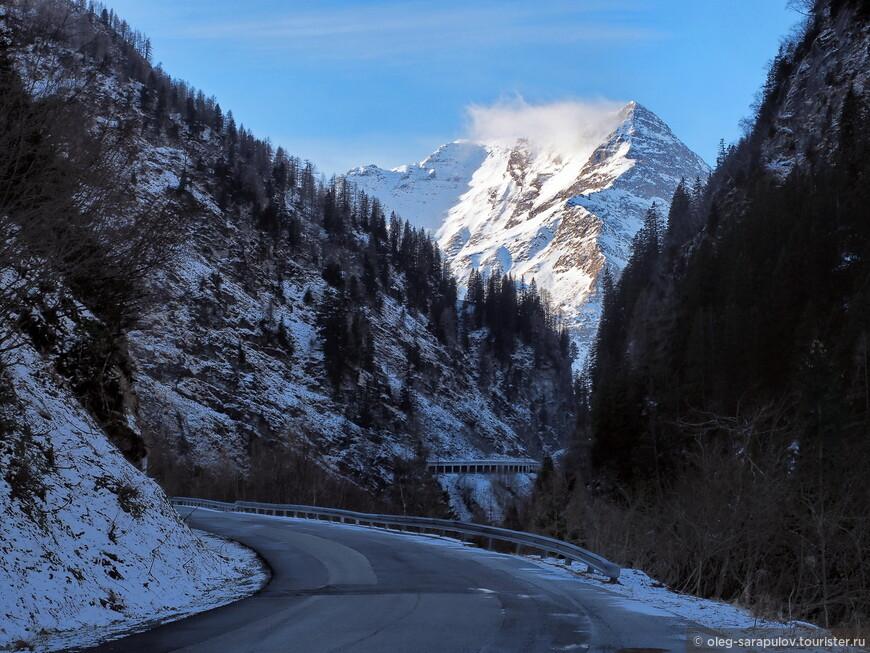 Дорога на Sportgastein сама по себе живописна