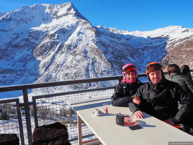Здесь в ресторане/ кстати, отличный Wi-Fi, Австрийский Бад-Гаштайн, открытие сезона