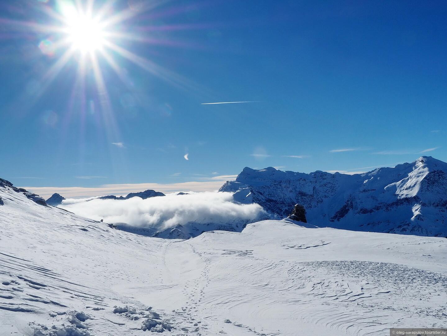 Давно ли вы гуляли по облакам?  Sportgastein приглашает!, Австрийский Бад-Гаштайн, открытие сезона