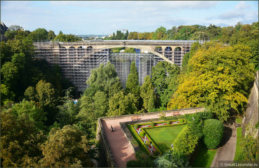Мост Адольфа, Люксембург.