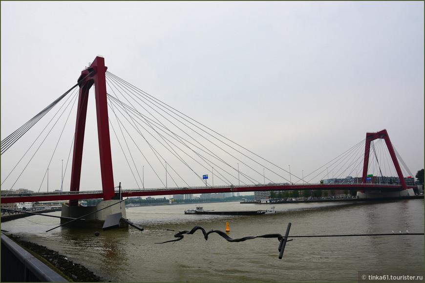 Красный мост, Роттердам.