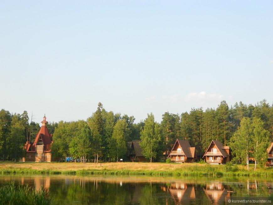 """Интересное место на окраине Костромы, парк отдыха """"Берендеевка"""""""