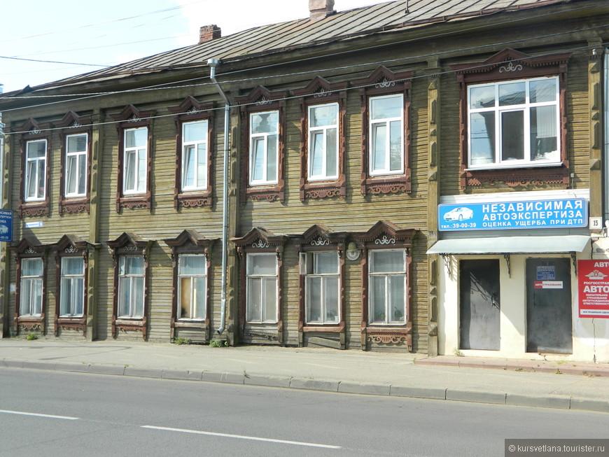 В историческом центре Костромы