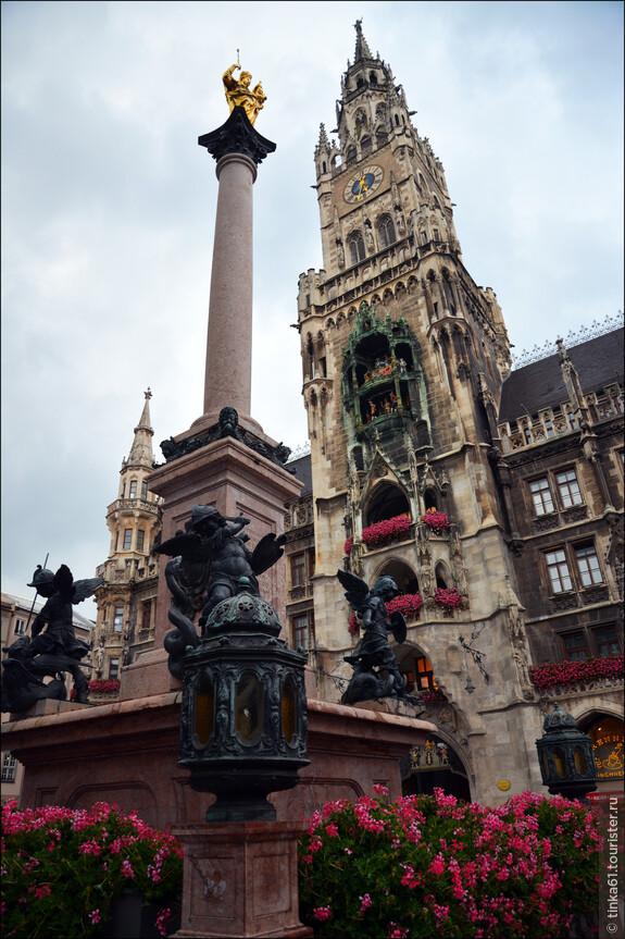 Величественное здание Ратуши в неготическом стиле появилось в Мюнхене всего лишь в 1909 году.