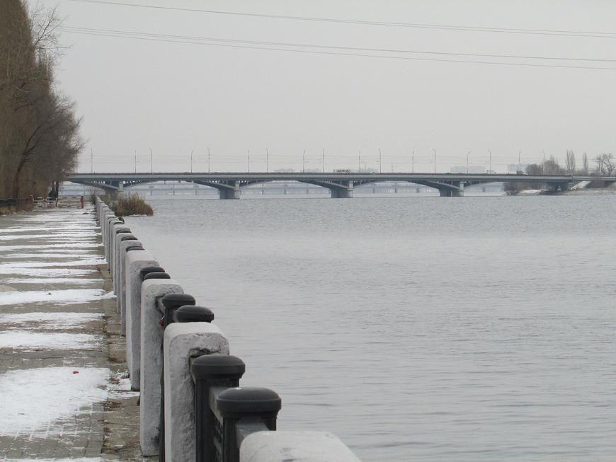 Мост через реку Воронеж.