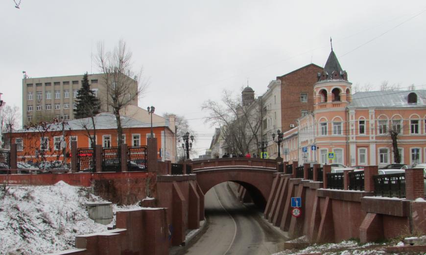 Мост влюбленных.