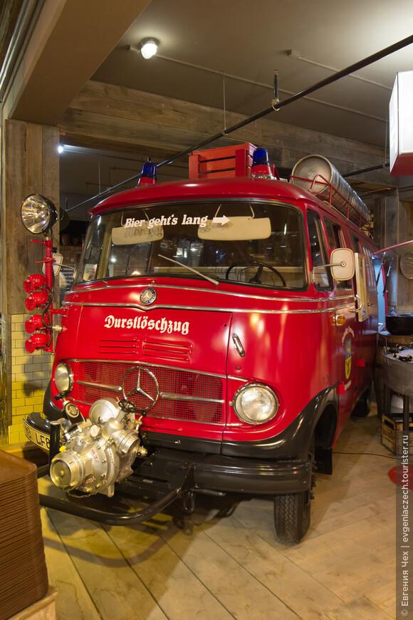 Для взрослых - целая пожарная машина пива