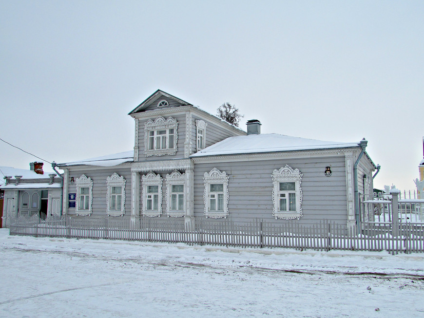 Старый купеческий дом в Кремле.