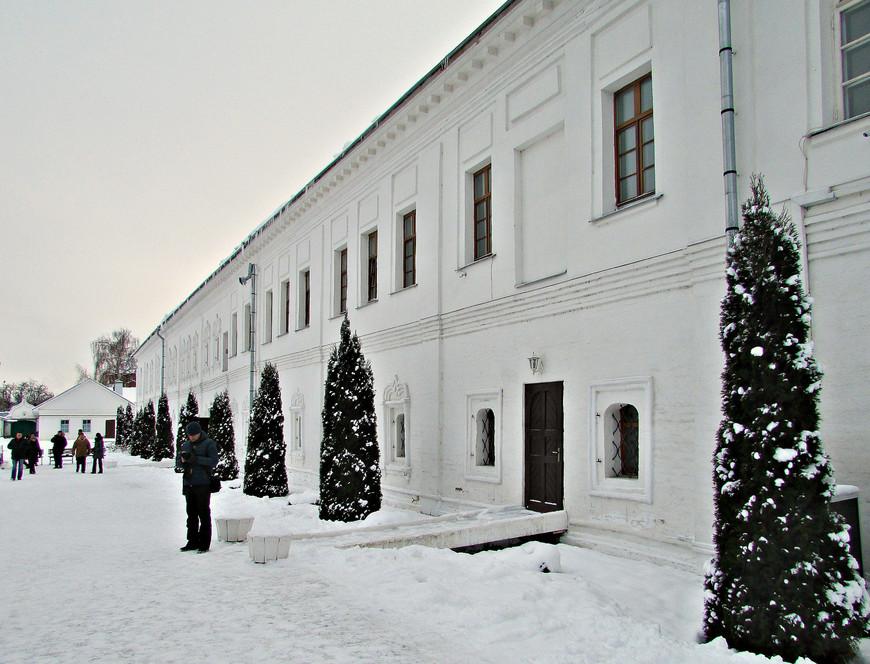 В Ново-Голутвинском монастыре.