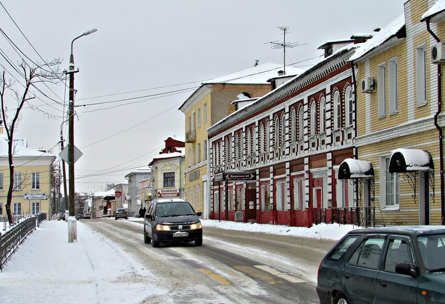 Центральная улица Коломны - Октябрьской революции (бывшая Астраханская)