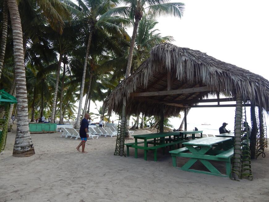 Быстро отобедав,чтобы не терять времени ,мы решили не ограничиваться нашим пляжем,а отправиться на прогулку чуть подальше.