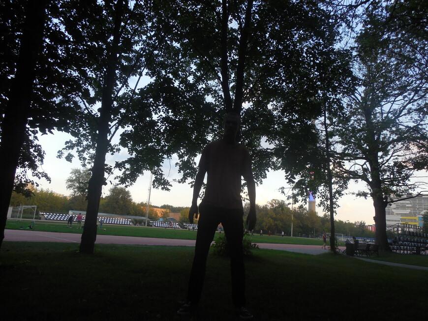 Парк «Останкино» - футбольное поле