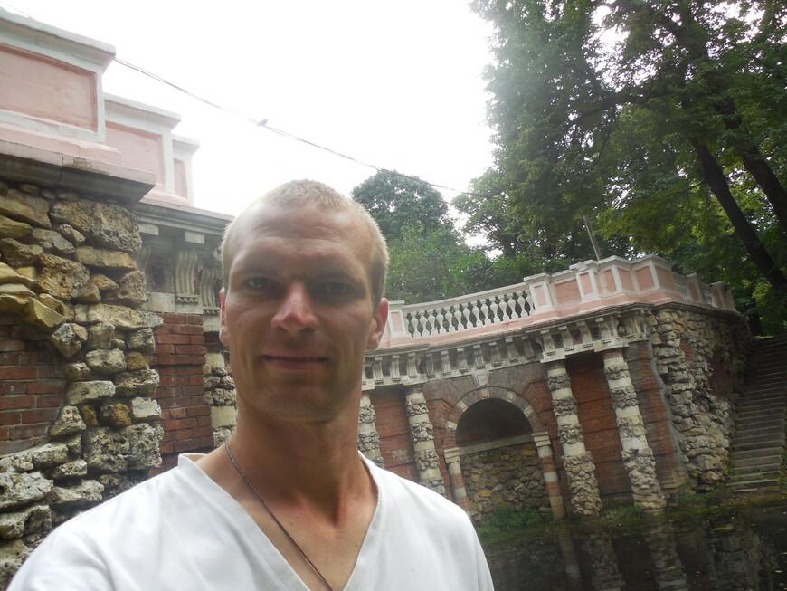 Лефортовский парк: грот «Растрелли»