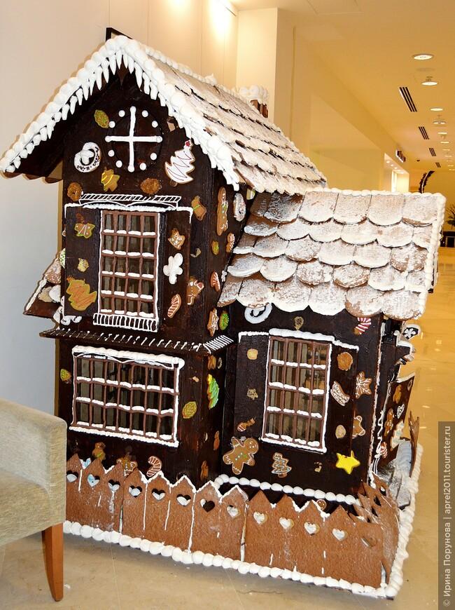 Пряничный домик в отеле