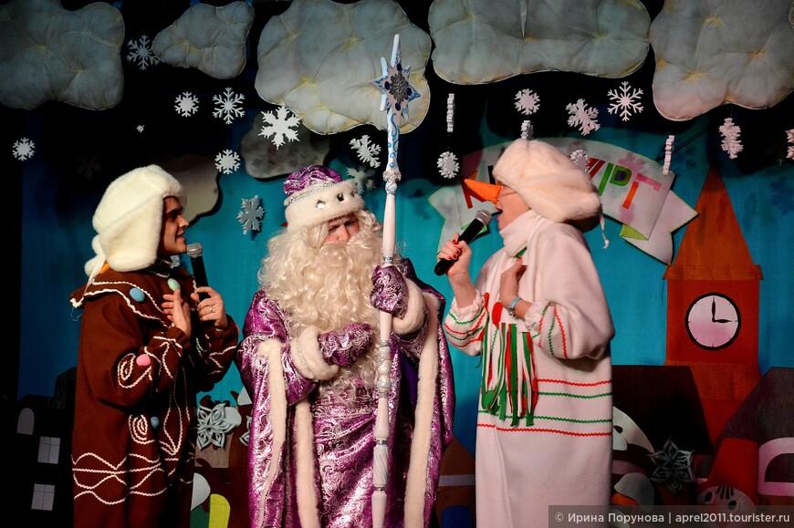 Новогоднее представление в Кидбурге (Центральный детский магазин)