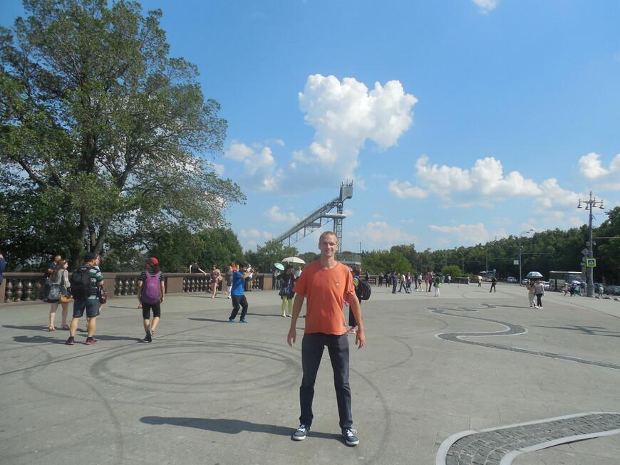 Воробьёвы горы: смотровая площадка и трамплин