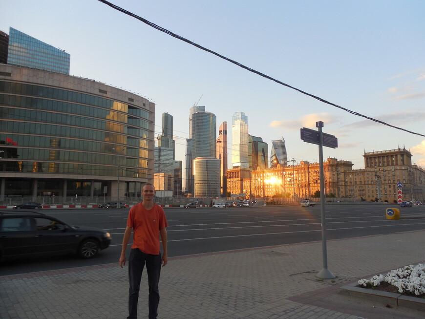 Кутузовский проспект - вид на ММДЦ «Москва-Сити»
