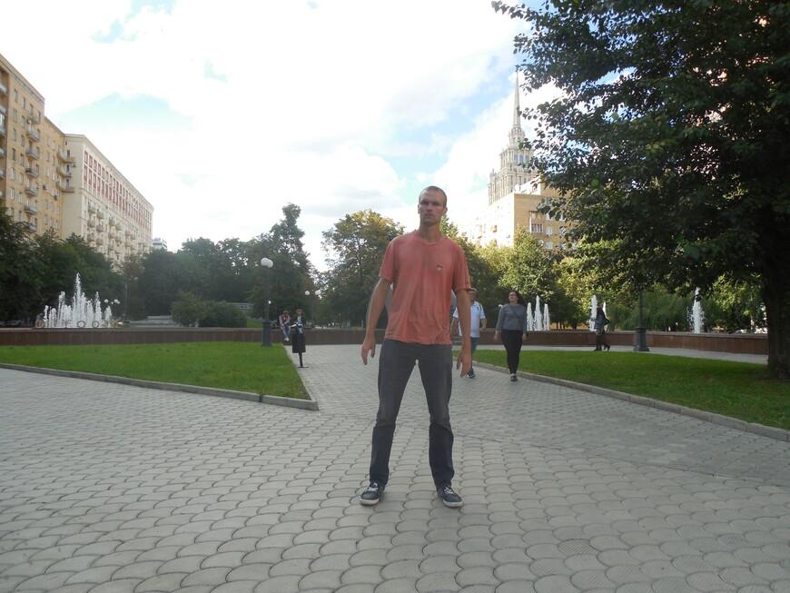 Украинский бульвар - фонтаны
