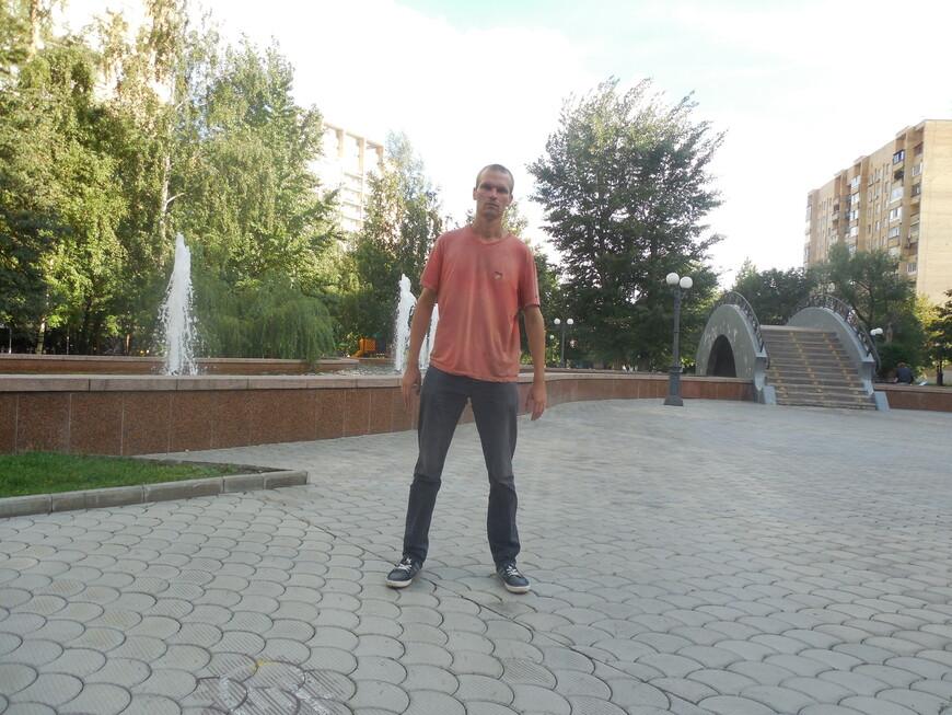 Украинский бульвар: фонтан и декоративный мостик