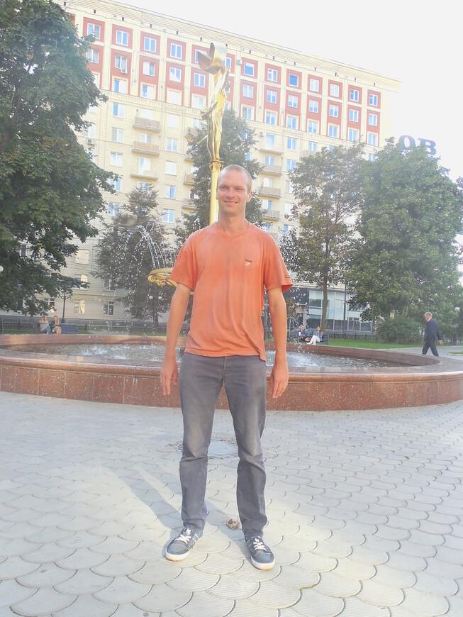 Украинский бульвар: фонтан «Девушка»