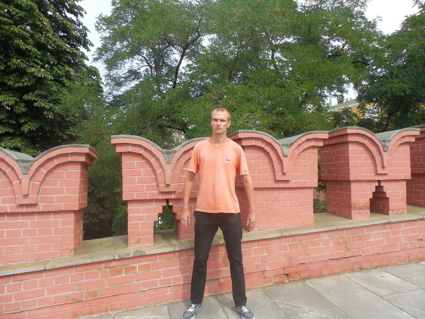 Главный вход на территорию Московского кремля - Троицкий мост