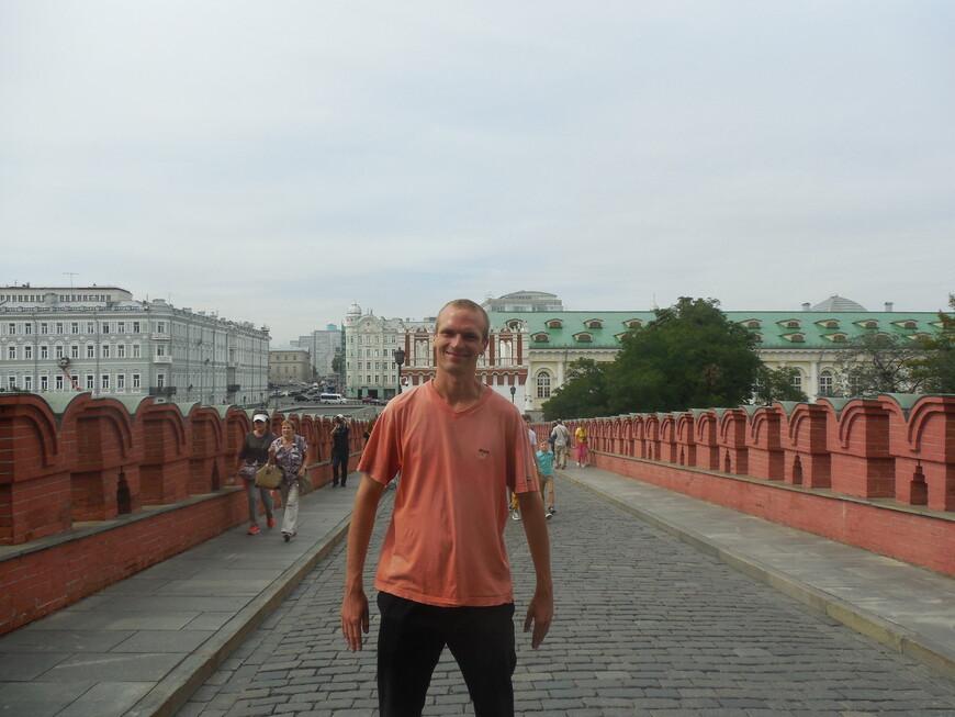 Главный вход на территорию Московского кремля - Кутафья башня и Троицкий мост