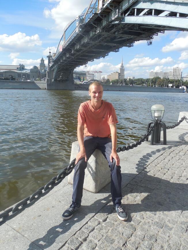 Мост Богдана Хмельницкого и Москва-река