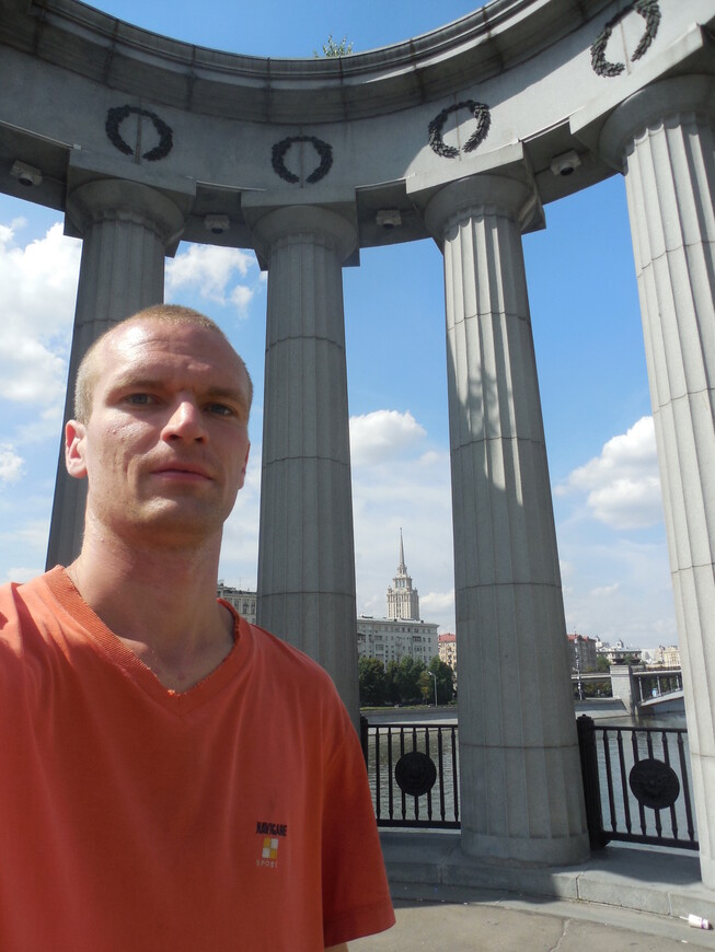 Бородинский мост - колоннада