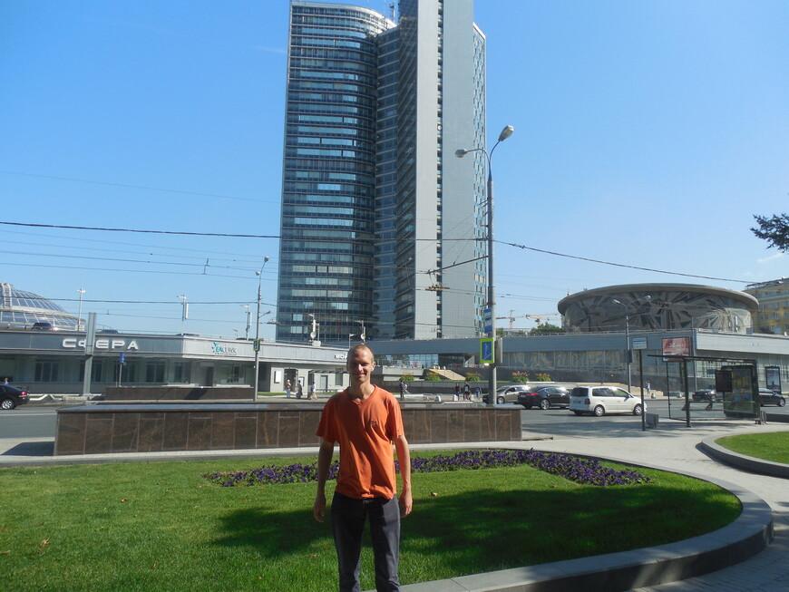 Новый Арбат: здание Совета экономической взаимопомощи