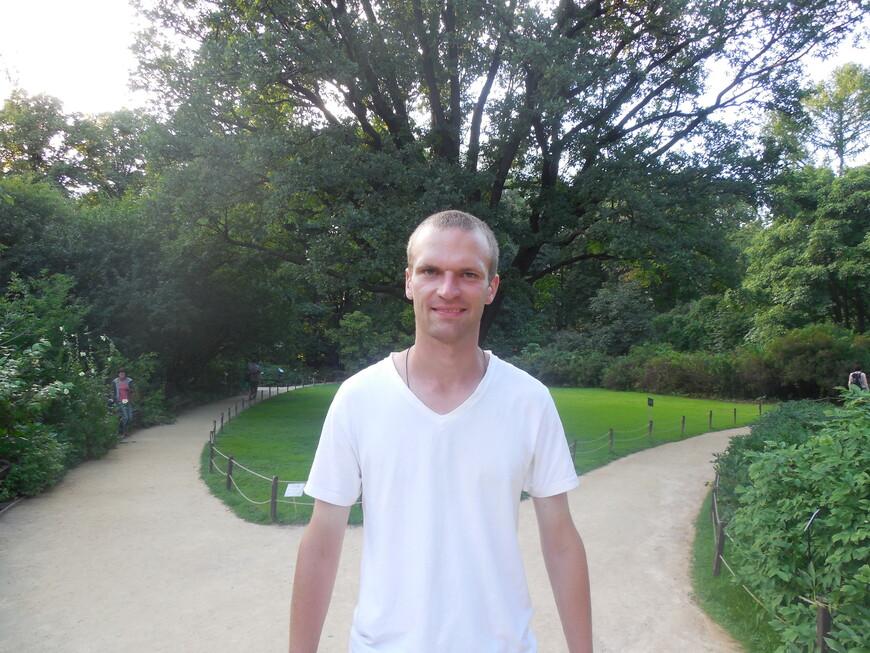 Аптекарский огород - 200-летний дуб Георга Франца Гофмана