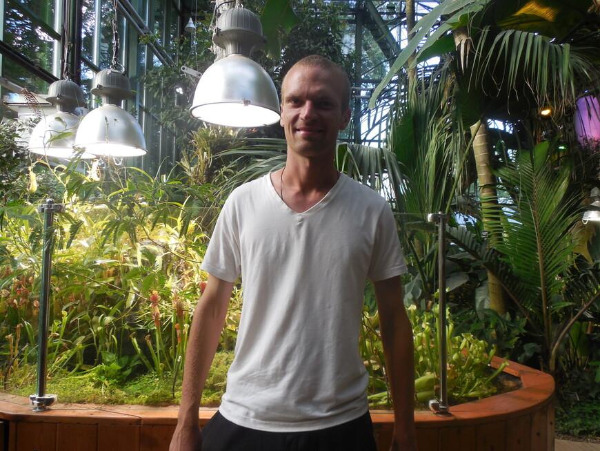 Аптекарский огород: Пальмовая оранжерея внутри
