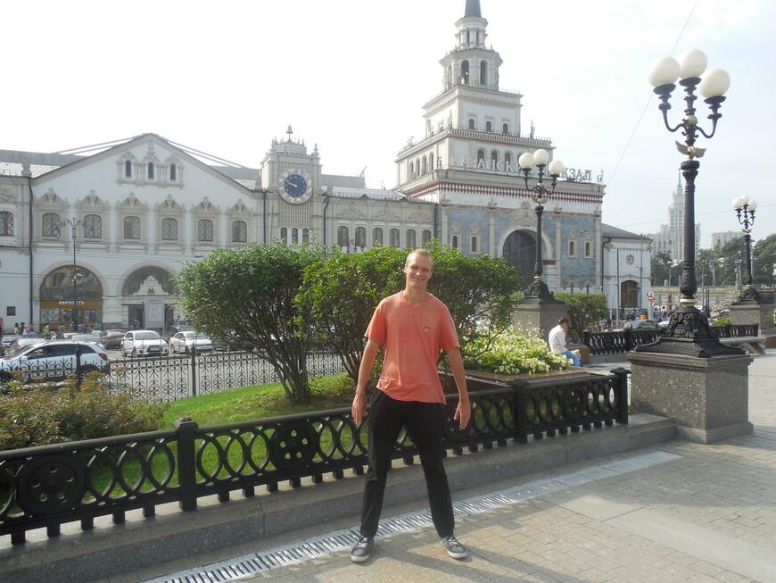Комсомольская площадь (площадь Трёх вокзалов) - Казанский вокзал