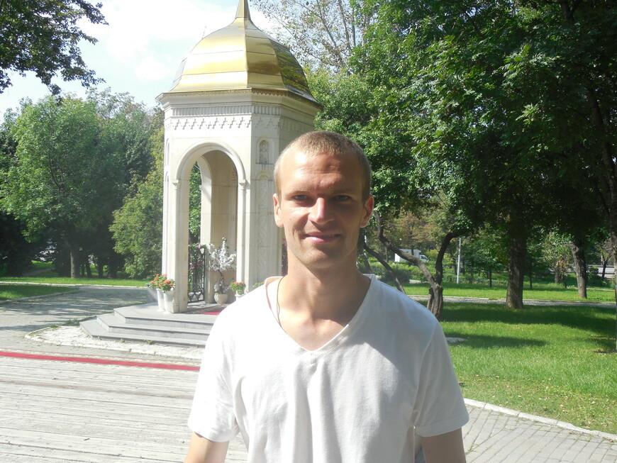 Сквер на Андроньевской площади: часовня Святой Троицы