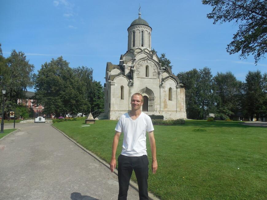Спасо-Андроников монастырь: собор Спаса Нерукотворного образа (самое старое здание)