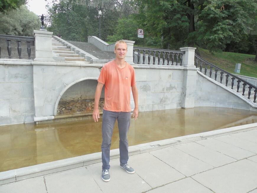 Нескучный сад: фонтан «Купальщица»