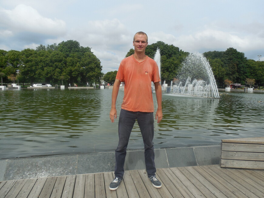 Парк Горького - фонтан