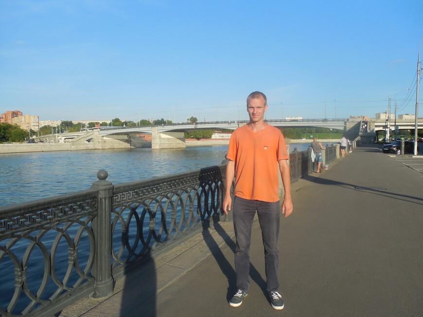 Шлюзовая набережная, Москва-река и Новоспасский мост