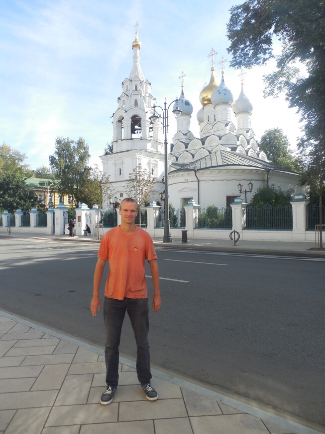 Большая Ордынка: храм Святителя Николая в Пыжах