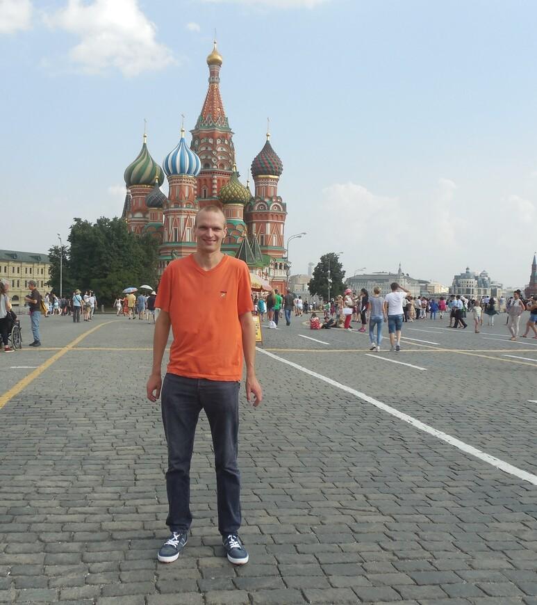 Красная площадь: храм Василия Блаженного (Покровский собор)