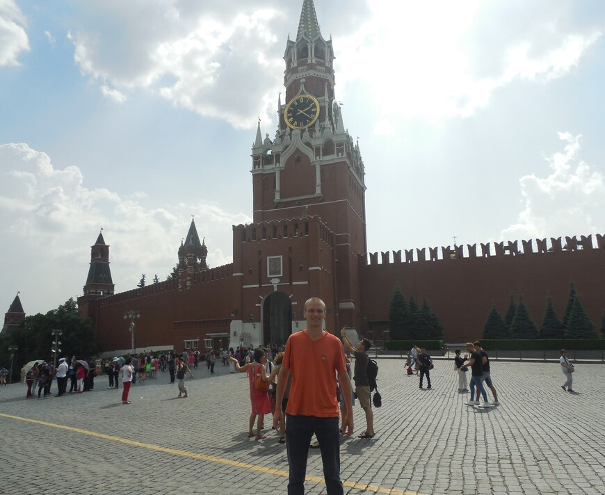 Красная площадь: Спасская башня