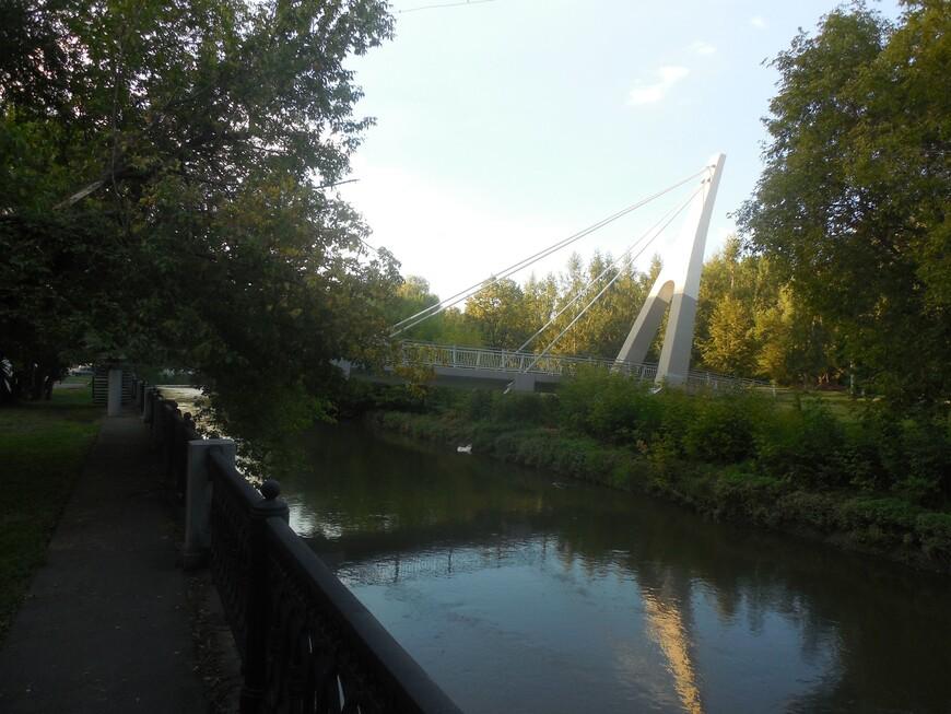 Третий Ростокинский мост и Яуза