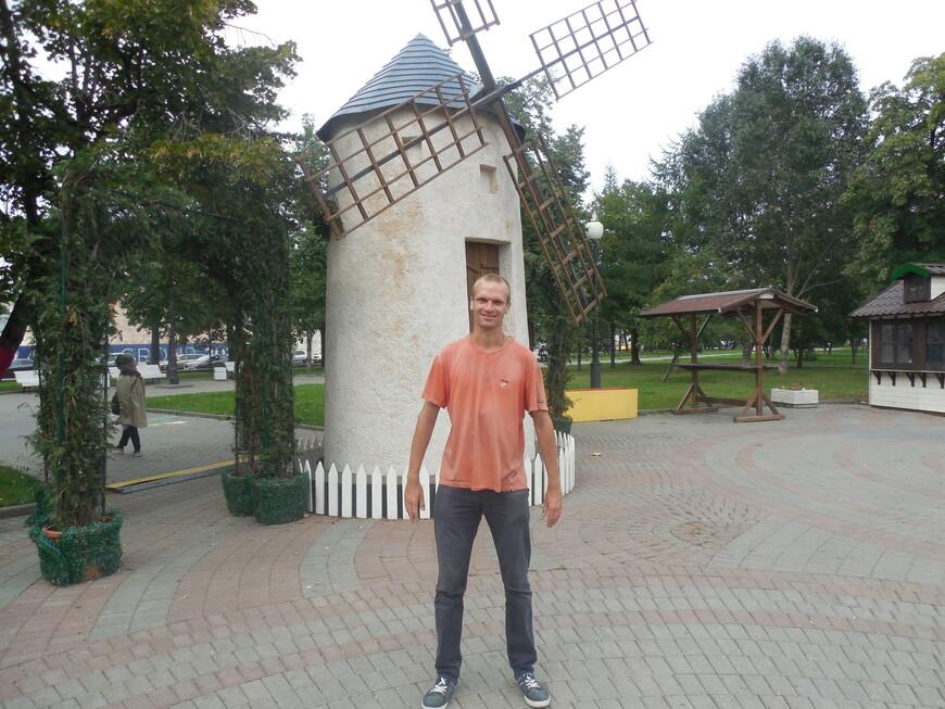 Болотная площадь (сквер на Болотной площади) - мельница