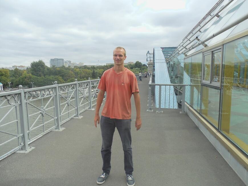 Пушкинский (Андреевский) мост: смотровая площадка